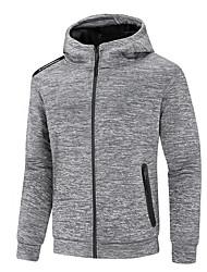 cheap -Wolfcavalry® Men's Hoodie Jacket Hiking Jacket Winter Outdoor Waterproof Windproof Breathable Warm Jacket Top Hunting Fishing Camping / Hiking / Caving Dark Grey / Grey / Dark Blue