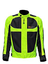 Недорогие -Муж. Велокуртки Велоспорт Зимняя куртка Одежда для мотоциклов Верхняя часть Сохраняет тепло С защитой от ветра Быстровысыхающий Виды спорта Зима Черный / зеленый Горные велосипеды Шоссейные велосипеды