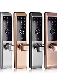 cheap -Factory OEM A2s Zinc Alloy / Aluminium alloy lock / Fingerprint Lock / Intelligent Lock Smart Home Security Android System Fingerprint unlocking / Password unlocking / Bluetooth unlocking Home
