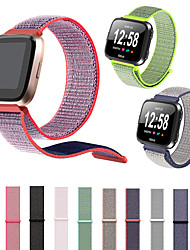 cheap -Watch Band For Fitbit Versa Fitbit Sport Band / Classic Buckle Nylon Wrist Strap Loop Adjustable Fastener Wrist Strap For Fitbit Versa