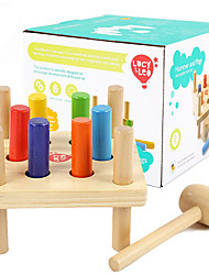 cheap -Hammering / Pounding Toy Educational Toy Baby & Toddler Toy compatible Wooden Legoing Classic Cool Education Boys' Toy Gift / Kid's / Kids
