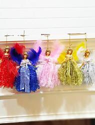 cheap -22*13cm Christmas Angel Plastic Holiday Decorations Christmas Decorations Christmas Figurines / Christmas Ornaments / Decorative Objects Cartoon / Decorative / Lovely 1pc