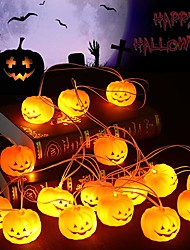 cheap -Holiday Decorations New Year's / Halloween Decorations Halloween / Halloween Entertaining Cartoon / LED Light / Party Orange 1pc