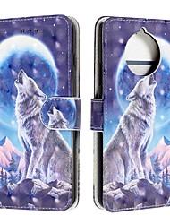 cheap -Case For Nokia 9 PureView / Nokia 7.1 / Nokia 4.2 Wallet / Card Holder / Flip Full Body Cases Animal PU Leather For Nokia 1 Plus/Nokia X71