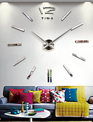 "cheap -Wall Clock,Fashion DIY Acrylic Stainless steel Irregular Indoor 70*140cm(28""*55"")"