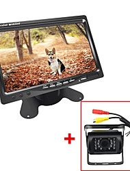 cheap -DC Bus Truck 7 LCD Monitor with Rear View Parking HD Camera Video System