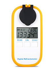 cheap -DR301 Digital Honey Refractometer Measuring Sugar Content Meter Range 090 Brix Refractometer Baume Honey Water Concentration Tool