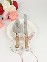 cheap -Hemp Rope / Resin / Steel Stainless Wedding / Birthday 1 set / PP Bag Knives / Shovel / Bakeware