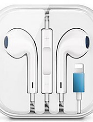 cheap -LITBest Wired Earphone with Microphone Stereo Earphones for iPhone iPod Wired Earphone