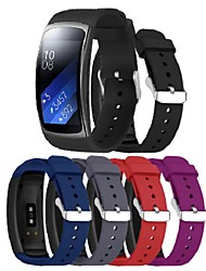 cheap -Wristband For Samsung Gear Fit 2 Pro/Fit 2 Band Sport Band Silicone Wrist Strap