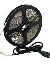 Недорогие -5 метров Гибкие светодиодные ленты 300 светодиоды 5050 SMD 1 комплект Тёплый белый / Белый / Красный Творчество / Для вечеринок / Декоративная 5 V