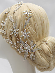 cheap -Rhinestone / Alloy Headpiece with Rhinestone 1 PC Wedding Headpiece