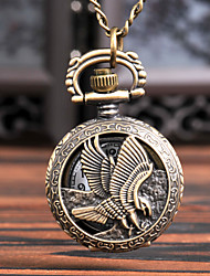 cheap -Men's Pocket Watch Quartz Vintage Style Vintage Hollow Engraving Analog - Digital Bronze