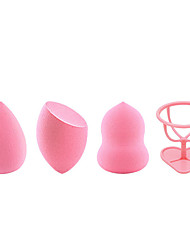 cheap -4 pcs Multi-function Drop Shape Gourd shape Other Material Comfortable Convenient For Universal Face Sweet Fashion Daily Daily Makeup Beauty Tools Blende