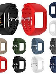 Недорогие -мягкий силиконовый резиновый ремешок для часов ремешок для полярных фитнес-часы m600