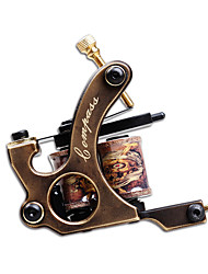 cheap -LANJUE TATTOO Professional Tattoo Machine - 1 carved machine liner & shader Portable Professional Classic 1 pcs Brass Carved