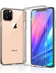 cheap -Case For Apple iPhone 11 / iPhone 11 Pro / iPhone 11 Pro Max Shockproof Back Cover Solid Colored TPU / Acrylic