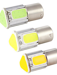 cheap -4PCS auto P21W BA15S 1156 bay15d 1157  led COB Car led turn bulb car led 6000K Signal Lights break Parking Bulbs Backup Tail Light 12v
