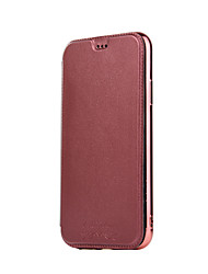cheap -Case For Apple iPhone XS / iPhone XR / iPhone XS Max Card Holder / Plating / Magnetic Full Body Cases Solid Colored / Glitter Shine PU Leather / PC