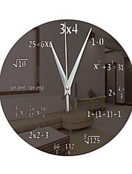 cheap -Modern Contemporary / Fashion Acrylic Irregular Classic Theme Indoor Battery Decoration Wall Clock Digital Specification No