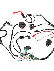 cheap -Wiring Harness Loom Solenoid Coil Rectifier CDI 50cc 70cc 110cc 125cc ATV Quad Bike Go Kart