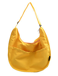 cheap -Women's Polyester Top Handle Bag Solid Color Black / White / Yellow