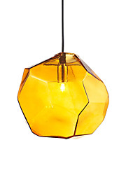cheap -OYLYW Geometric Pendant Light Ambient Light Glass Glass Mini Style Bulb Not Included / G9