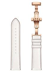 Недорогие -ремешок для часов для samsung galaxy gear sport пряжка из розового золота с бабочкой 20мм ремешок из натуральной кожи