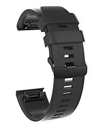 Недорогие -Ремешок для часов для Fenix 5x / Fenix 5s / Fenix 5 Garmin Спортивный ремешок силиконовый Повязка на запястье