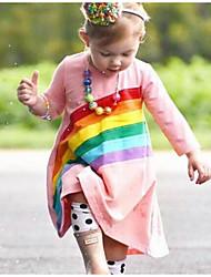 cheap -Toddler Girls' Geometric Dress Blushing Pink