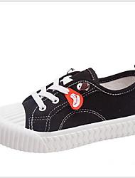 cheap -Girls' Comfort Canvas Sneakers Little Kids(4-7ys) Pink / Gray Summer