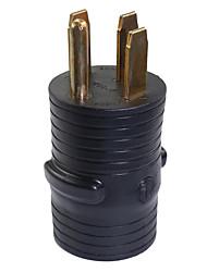 Недорогие -Открытый преобразователь электроэнергии RV адаптер вилка 50a штекер до 30a штекер
