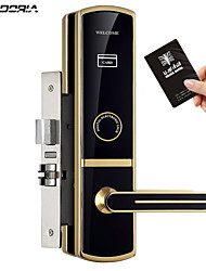 cheap -Factory OEM KD8605RF Stainless Steel lock / Intelligent Lock / Card Lock Smart Home Security System RFID / Mechanical key unlocking Hotel Wooden Door (Unlocking Mode Mechanical key / Card)