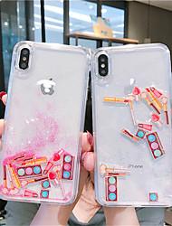 cheap -Case For Apple iPhone XS / iPhone XR / iPhone XS Max Flowing Liquid / Glitter Shine Back Cover Glitter Shine TPU