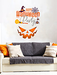 cheap -Decorative Wall Stickers - Plane Wall Stickers Halloween Decorations Bedroom / Dining Room