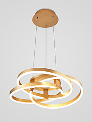 cheap -Modern Metal Winding Chandelier Creative Chandelier Living Room Lights