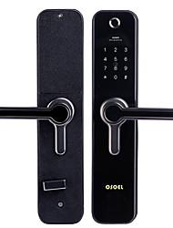 cheap -Factory OEM R198 Aluminium alloy Fingerprint Lock / Password lock Smart Home Security Android System Fingerprint unlocking / Password unlocking Home / Office / Hotel Wooden Door (Unlocking Mode
