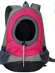 cheap -Cat Dog Carrier & Travel Backpack Nylon Pet Baskets Solid Colored Portable Breathable Yellow Green Red