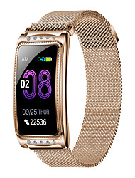 cheap -New F28 Fashion Women's Steel Belt Sports Bluetooth Smart Watch / Heart Rate And Blood Pressure Health Monitoring / Female Physiological Monitoring / Multiple Sports Modes / IP67 Waterproof