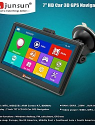 cheap -Junsun D100S HD Car GPS Navigator 7.0 inch Win CE 6.0 256MB RAM+8GB ROM Multi-media Player Navigation 3D Capacitive Touch Screen FM Bluetooth AVIN Navitel Free Map Update