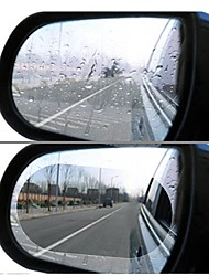 cheap -2pcs car rearview mirror rain film side window film mirror full screen anti-fog nano waterproof film