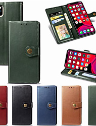 cheap -Leather Flip Phone Case For iphone 11 Pro Max XR XS Max X 8 Plus 8 7 Plus 7 6 Plus 6 Magnetic Wallet Cover With Card Holder