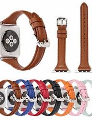 Недорогие -ремешок для часов из натуральной кожи для серии Apple Watch 4/3/2/1