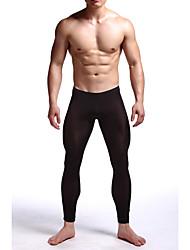 abordables -Homme Normal Nylon / Spandex Super sexy Caleçon Couleur Pleine Mosaïque Taille médiale
