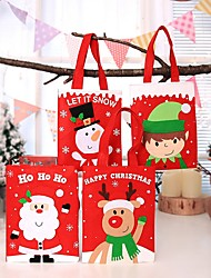 cheap -Gift Bags Holiday Cloth Square Novelty Christmas Decoration