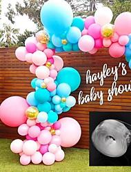 abordables -ballons accessoires 5 m ballon chaîne pvc caoutchouc fête de mariage anniversaire décor toile de fond ballon chaîne arch décor joyeux anniversaire