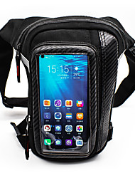 cheap -WOSAWE Motorcycle Leg Pockets Touch Screen Mobile Phone Bag Reflective Waterproof