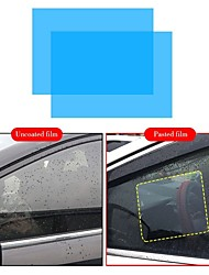 cheap -2 pcs car film Anti rain film water repellent car mirror transparent window films Anti glare rearview mirror Anti fog waterproof film