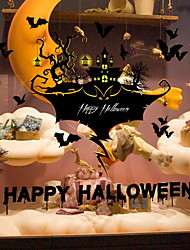 cheap -Decorative Wall Stickers - Plane Wall Stickers Halloween Decorations Indoor