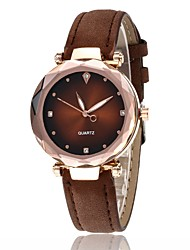 cheap -Women's Quartz Watches Quartz Stylish Casual Casual Watch Analog Black Blue Purple / One Year / One Year / SSUO 377